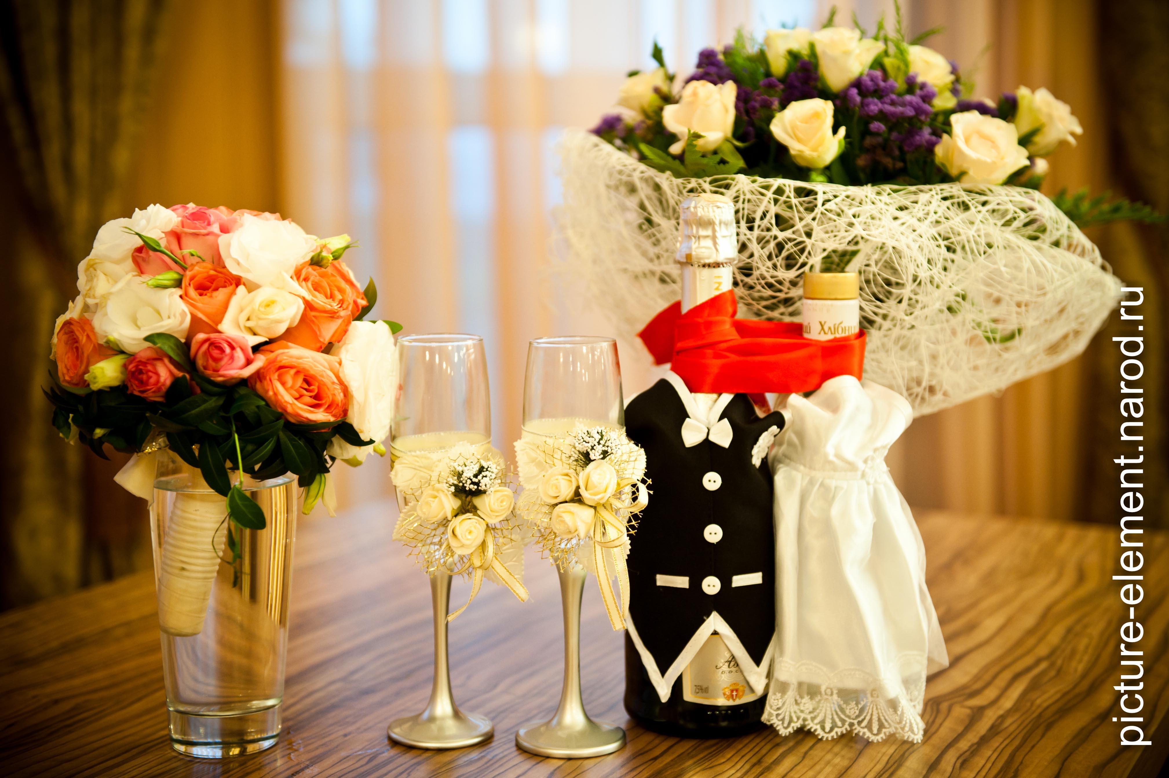 Букеты на свадебный стол сделать своими руками
